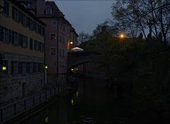 Es wird Nacht in Bamberg