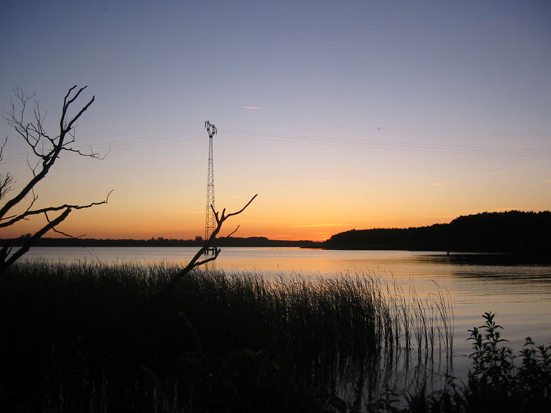 Es wird Nacht übern See...