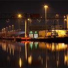 Es wird ruhig im Hafen