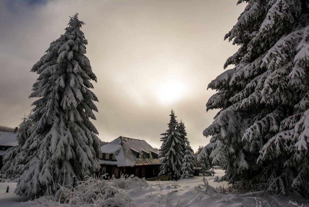 Es wird Winter im Erzgebirge