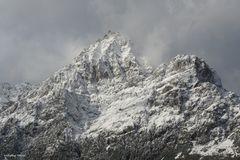 Es wird Winter in den Dolomiten