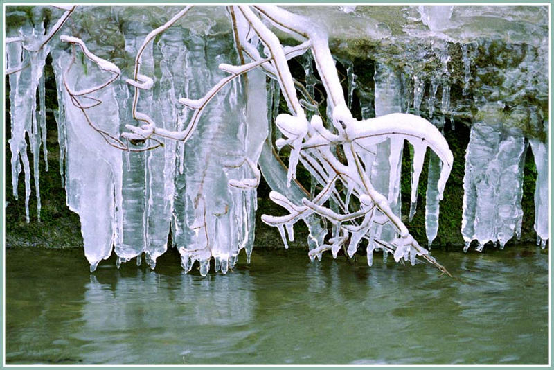 Es wurde immer kälter..............