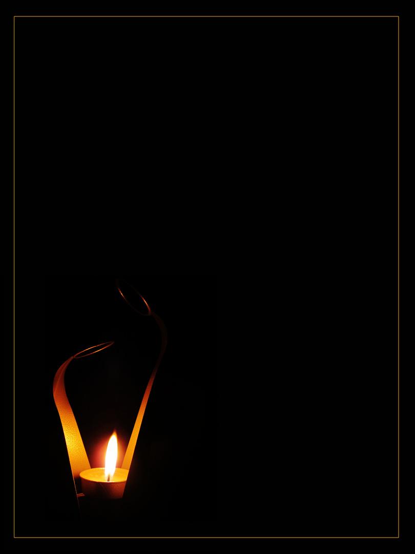 ''Esa pequeña luz'' Para el proyecto de Goyo. Minimalismo