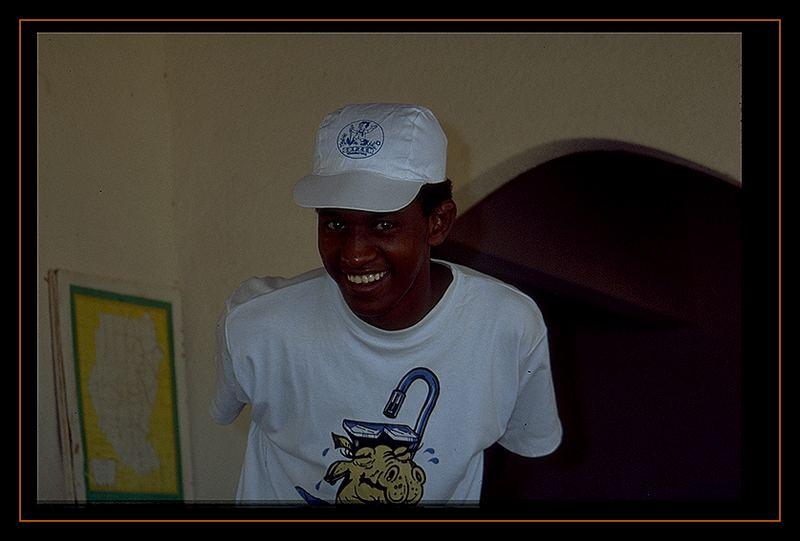 Esam - der gute Geist vom Sudan Diving Paradise !