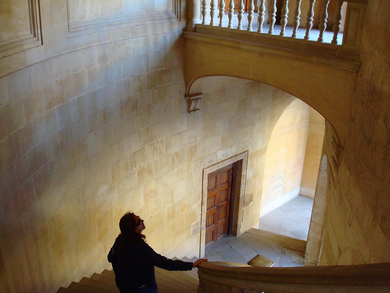 Escalera en el Palacio