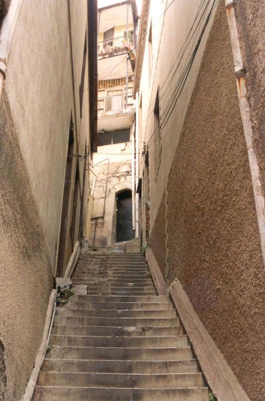 escalera valparaiso