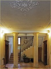 Escalier de la Villa Crine à Valpolicelle