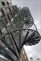 Escalier extérieur - Hôtel