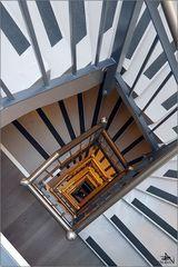 Escalier intérieur - Hôtel