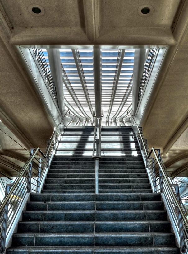 Escalier....en perspective