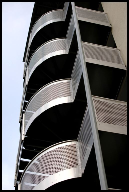 Escaliers d'EDF à Chalon sur Saône