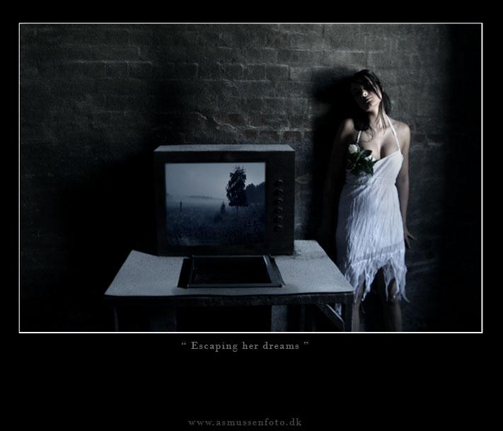escaping her dreams