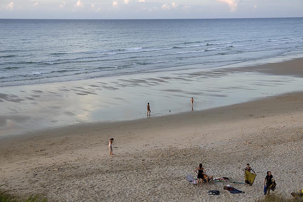 Escenas de playa