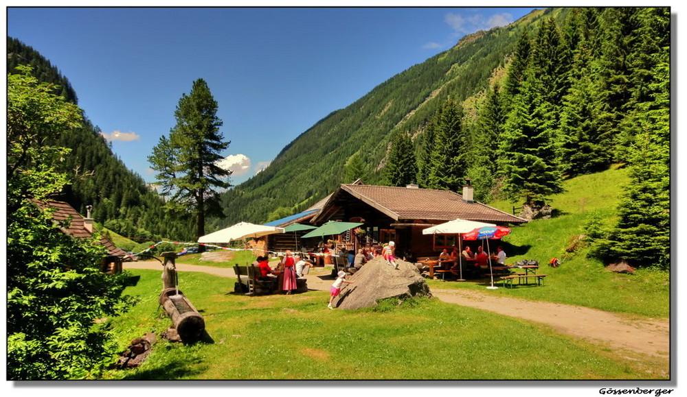 Eschbach Alm im Obertal bei Schladming