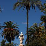 escultura en el parque