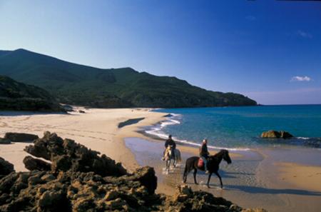 Escursione a cavallo - Scivu - Arbus (VS) - Sardegna