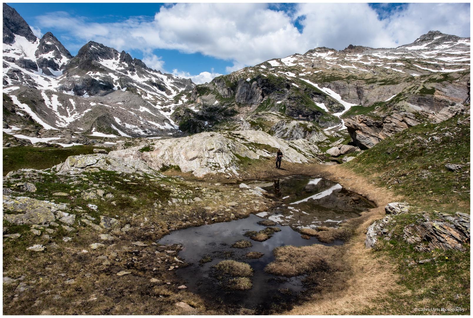 -escursione- Dienstag ist Spiegeltag - auch in den Bergen