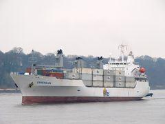 Esmeralda - Kühlcontainerschiff