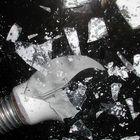 esplosine della lampadina