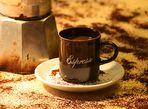 Espresso mit Bialetti