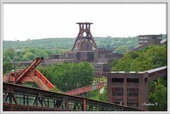 Essen - Kokerei Zollverein - mit Blick auf die Zeche Zollverein