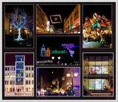 Essen - Lichterwoche 2013 - Impressionen beim Stadtbummel