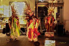 """Essen - Weihnachtsmarkt - """"Indianer""""- Kapelle"""