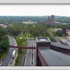 Essen - Zeche Zollverein - Blick vom oberen Turm der Zeche - 1