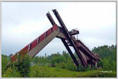 Essen - Zeche Zollverein - Fördergerüst