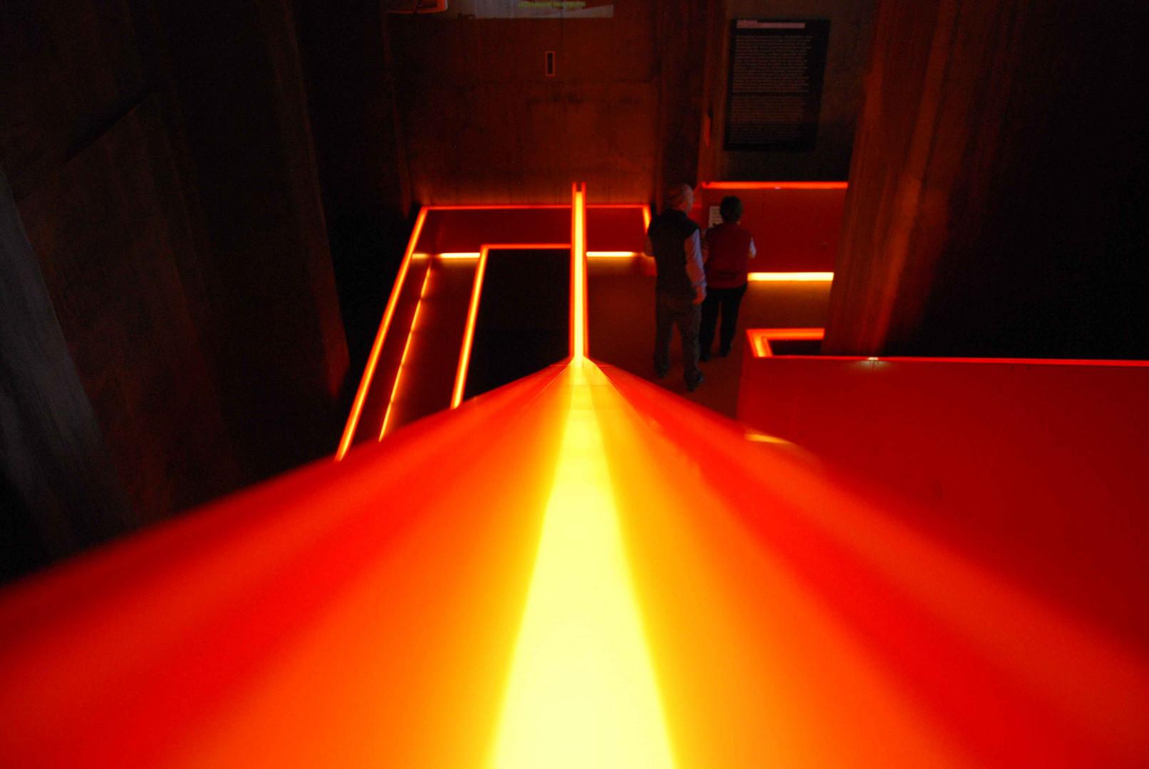 """Essen Zollverein Visitorcenter """"Stairway to Hell"""""""