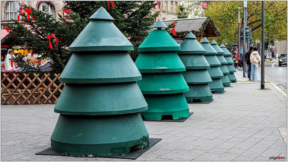 Essener Betonweihnachtsbäume