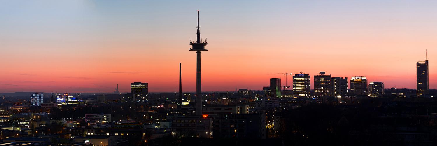 Essen_Skyline_Morgen2017
