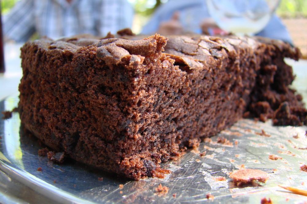 Esst mehr Schokoladenkuchen =)
