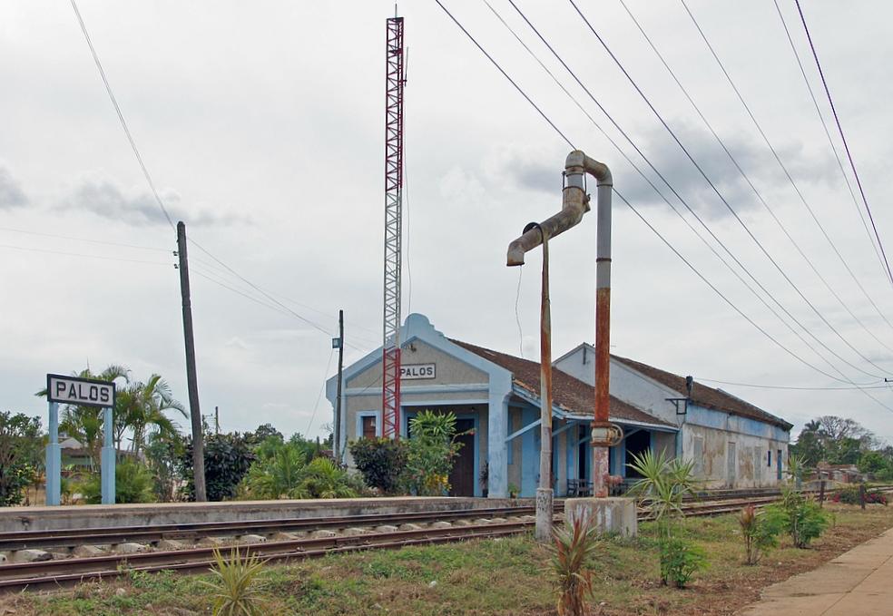 ..estación de ferrocarril..