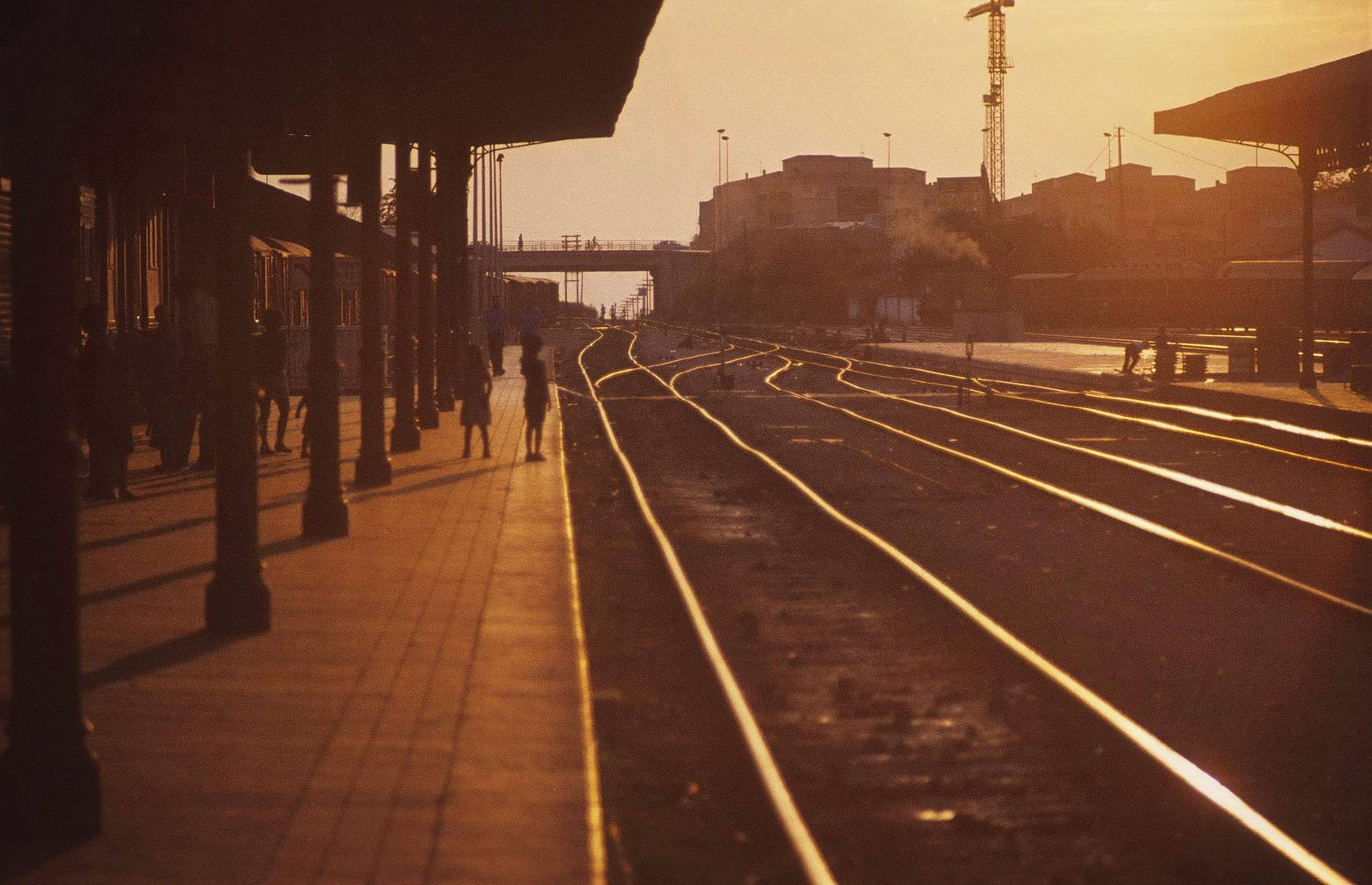 Estacion de Ferrocarril, Granada, 1980