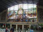 Estación  de trenes, en Bilbao