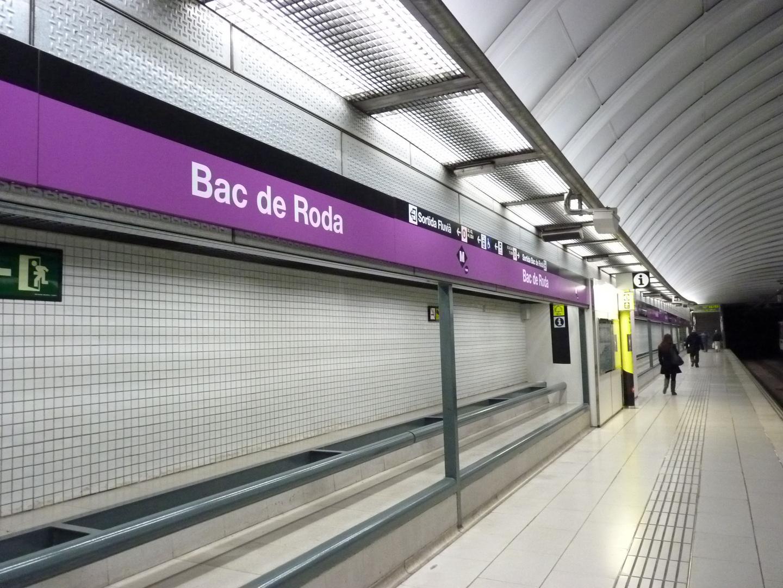 Estaciòn del Metropolitano Linea 2 de Barcelona.