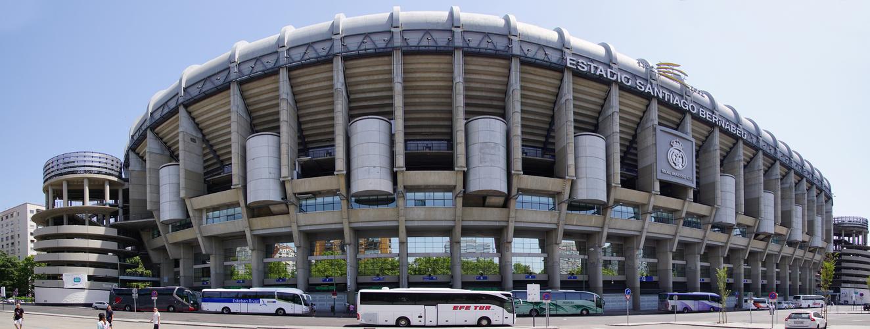 Estadio Santiago Bernabéu, Außenansicht