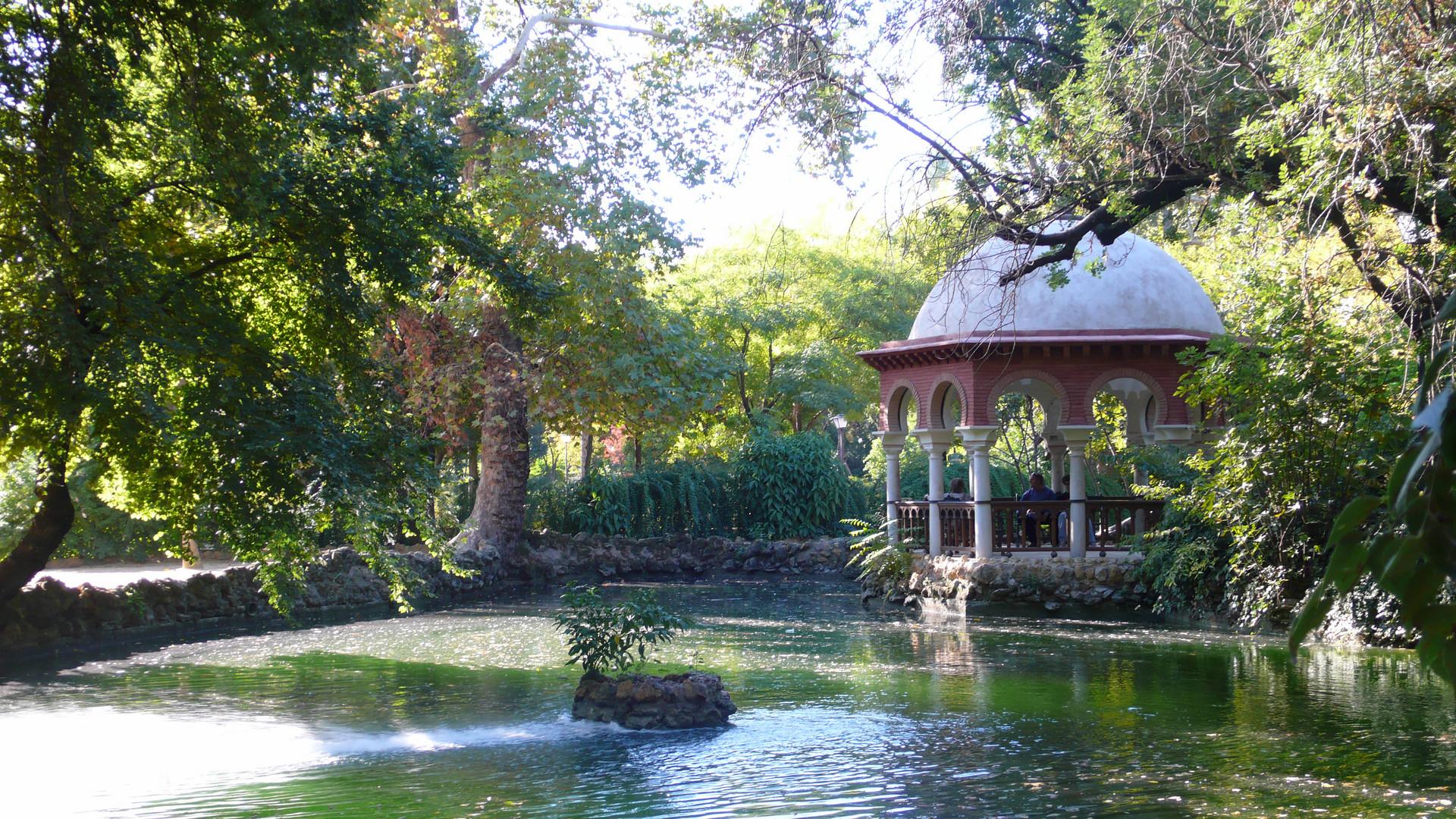 Estanque en Parque de Maria Luisa