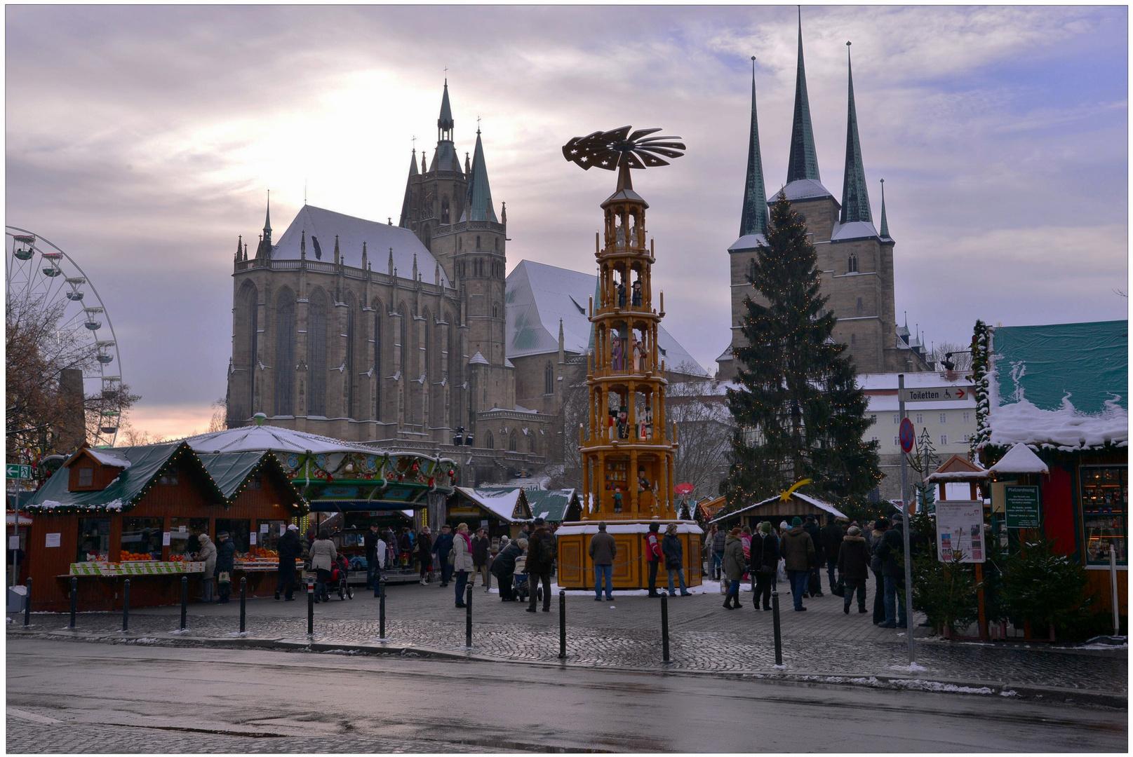 estar de visita en Erfurt, 5 (Besuch in Erfurt, 5)