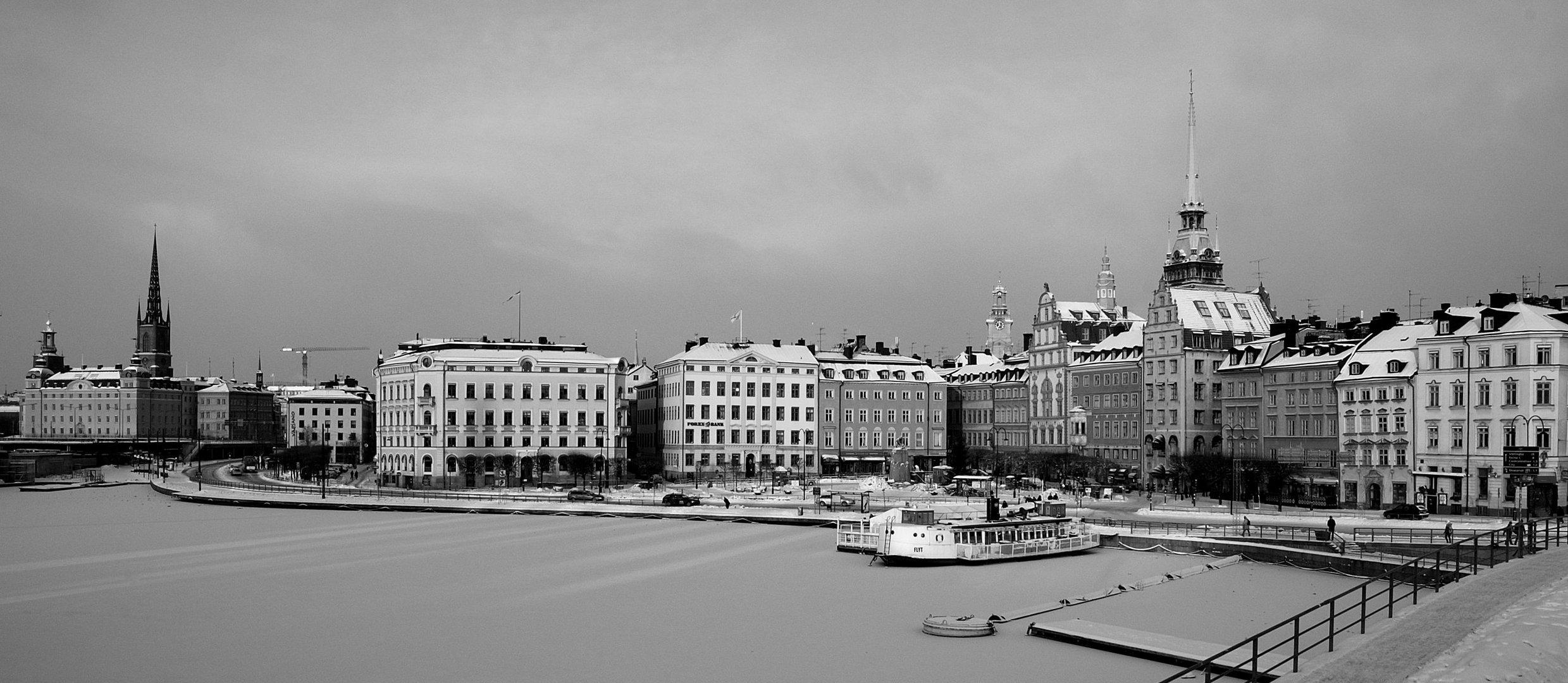 Estocolmo en blanco y negro