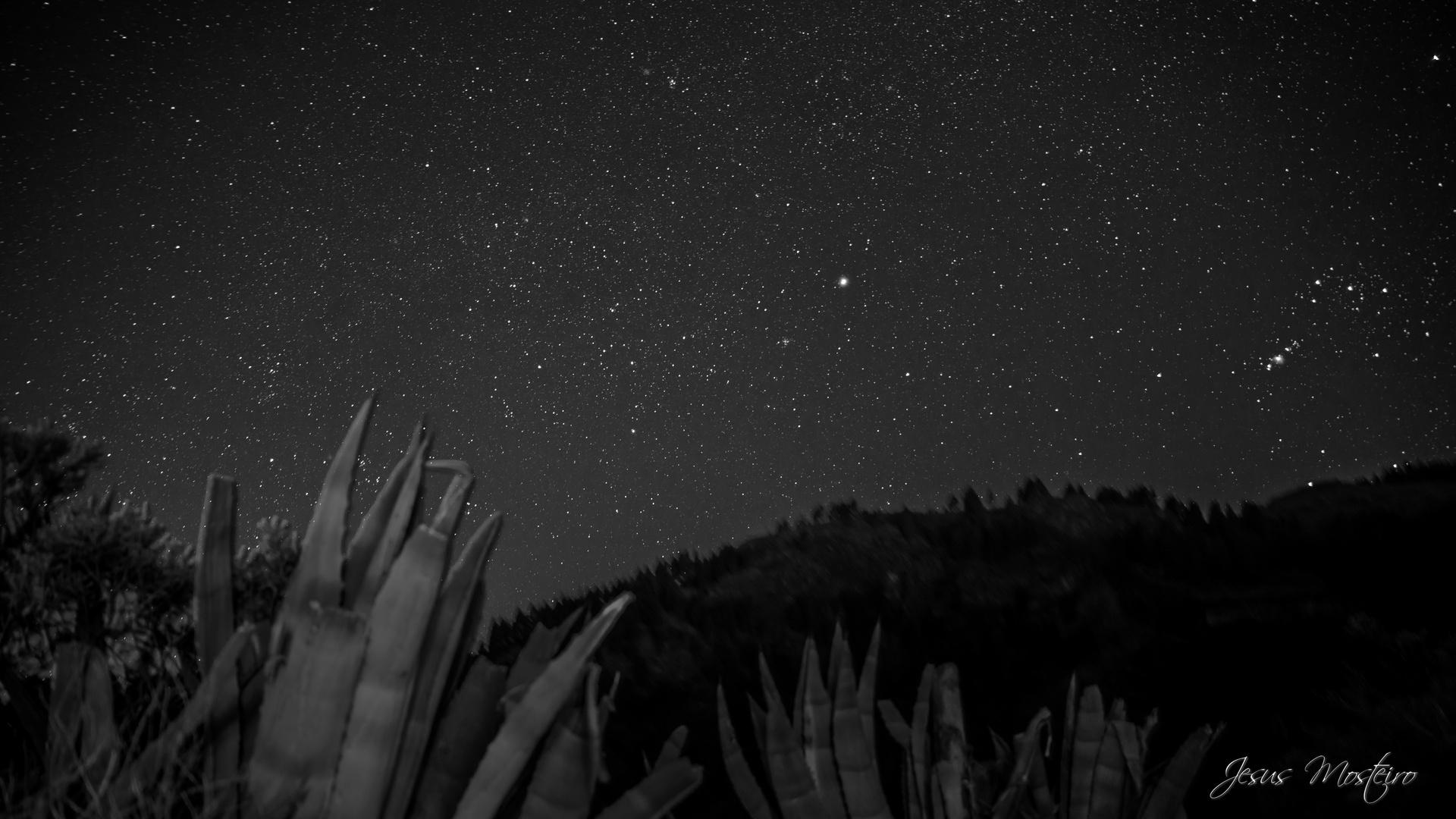 estrellas, cumbre gran canaria