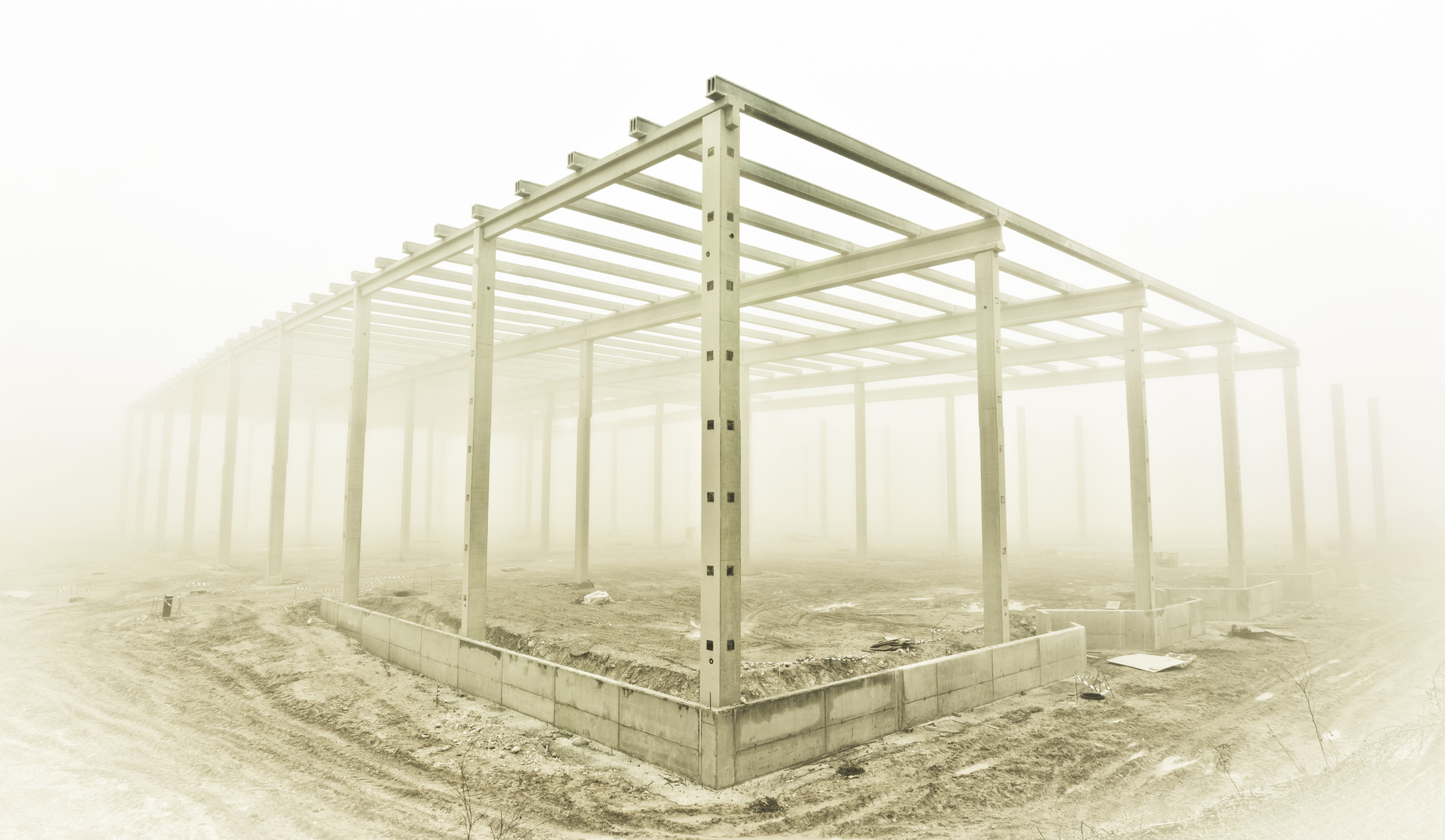 Estructura en la niebla