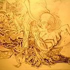 estudo para pintura - Marcio Quadrado