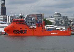 Esvagt Faraday - Offshore- Versorgungsschiff
