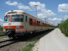 ET 420 001 im Bbf München Pasing 2008