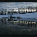 étang de pêche hors saison