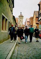 Etappenziel Rothenburg-ob-der-Tauber