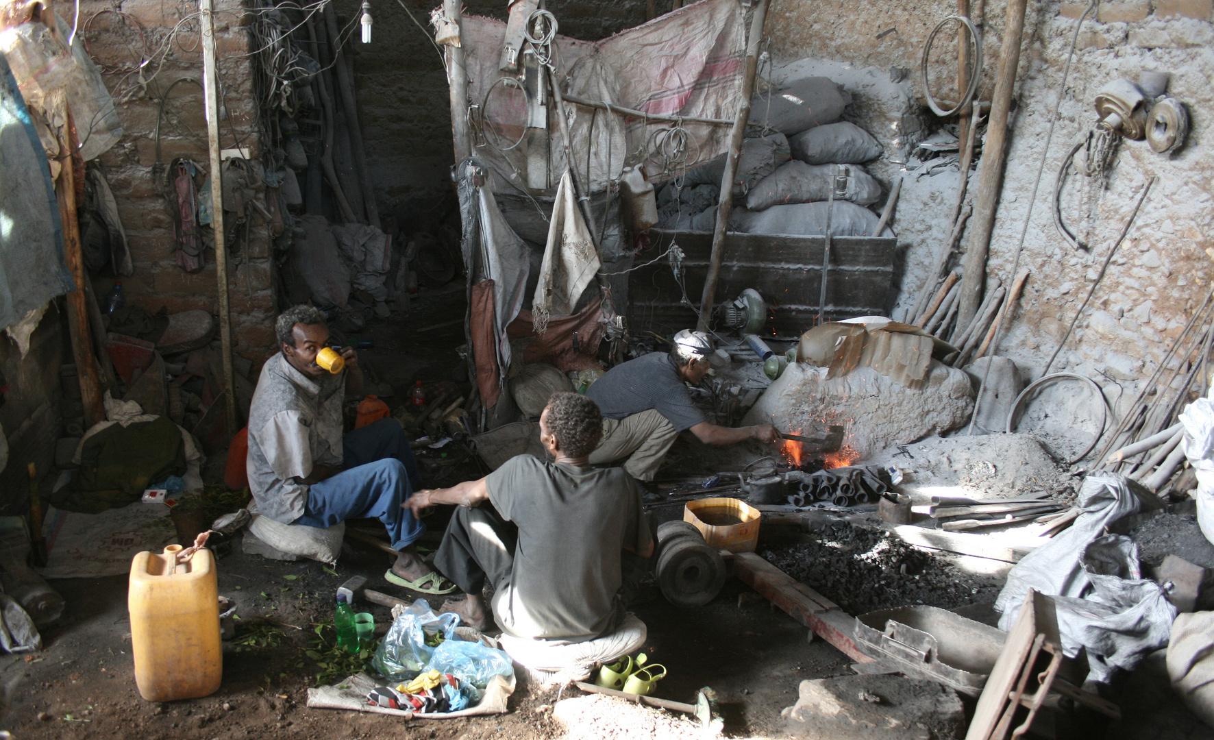 Ethiopia Harar - blacksmith's shop