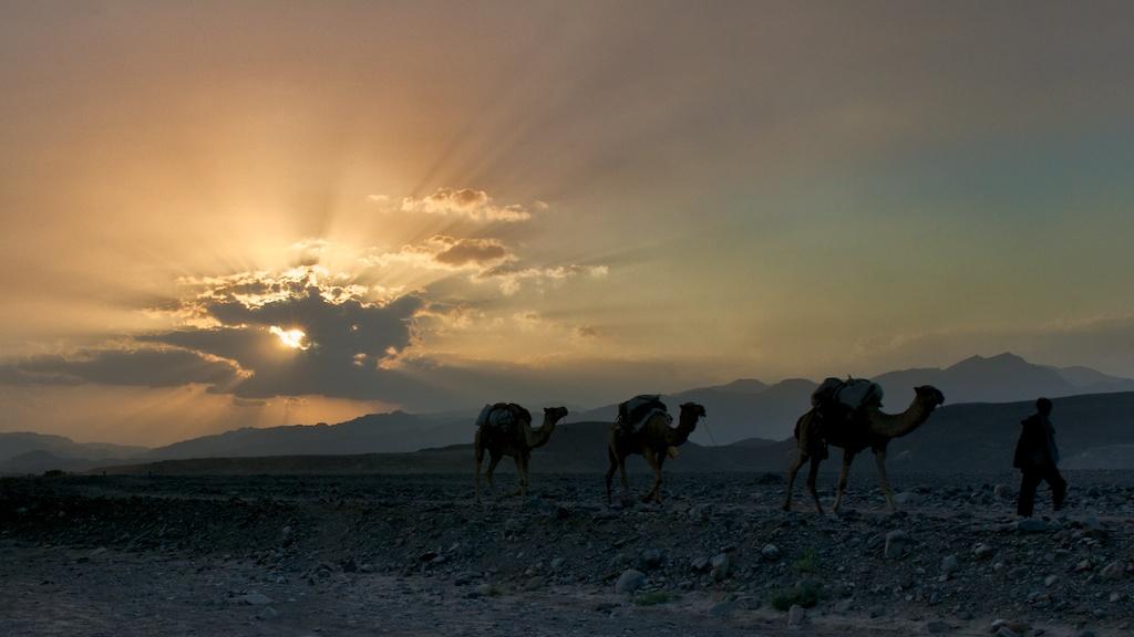 Ethiopian Sunset